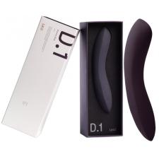 Laid LAID D.1 - szilikon G-pont dildó (fekete) műpénisz, dildó