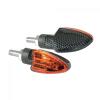 """Lampa Lampa """"Arrow"""" motorkerékpáros index párban - Karbon - H21W"""