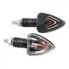 """Lampa Lampa """"FOCAL"""" motoros index pár - Karbon - HY21W"""