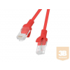 Lanberg Patchcord RJ45 cat. 6 UTP 10m red