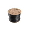 Lanberg UTP solid outdoor cable, CU, cat.5e, 305m, Black