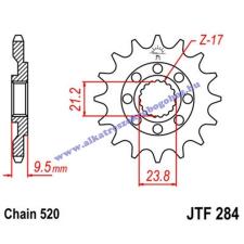 Lánckerék első JTF284 520 12 fogas lánc, láncszett
