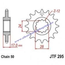 Lánckerék első JTF295 530 15 fogas lánc, láncszett
