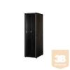 """Lande LN-CK16U6060-BL CK 16U 600x600 Álló rack szekrény 19"""" (nem lapra szerelhető) RAL9005 fekete"""