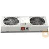 Lande LN-FAN-THM-1FFS-LG Ventilátor egység Álló rack szekrényhez 1 ventilátor Termosztáttal RAL7035 szürke