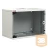 """Lande LN-SH07U5430-LG-F0 NETbox SOHO 7U 540x300 fali rack szekrény lapra szerelt 19"""" RAL7035 szürke"""