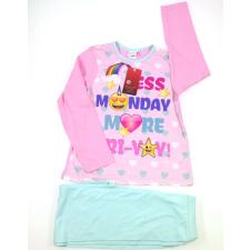 Lány Pizsama #rózsaszín-kék gyerek hálóing, pizsama