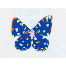 Lányka pillangós rövid ujjú póló