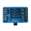 """Laser Tools Bit készlet teherautós 3/4"""" és 1"""" 24 db-os gépi imbusz+torx+XZN+E-torx(LAS-6891)"""