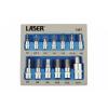 Laser Tools Rátűzőkulcs - crowa+bit klt. imbusz H2-H14 13r. - EVA tálcán (LAS-7497)