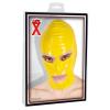 Latex maszk (sárga)