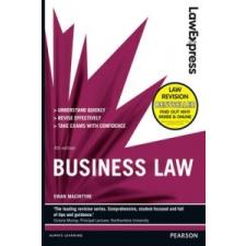 Law Express: Business Law (Revision Guide) – Ewan MacIntyre idegen nyelvű könyv