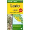 Lazio térkép - TCI