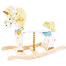 Le Toy Van Petila fából készült hintaló, unikornis hintaló