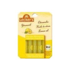 Leckers bio citromolaj /étkezési/ 4 ampulla biokészítmény