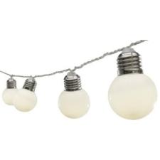 LED-es izzósor, körte alakú, 9,5m, IP44, 230V karácsonyfa izzósor