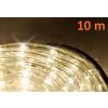 LED fénykábel 10 m - meleg fehér, 240 dióda