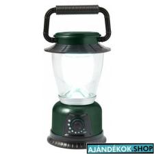 LED kempinglámpa, zöld elemlámpa