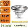 LED lámpa AR111 (12Watt/40°) természetes fehér DIM!