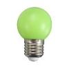 LED lámpa E27 (1Watt/200°) Körte - zöld