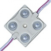 LED modul 1.44 Watt (2835x4/150°/IP68) - Kék
