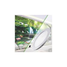 LED panel kör alakú beépíthető lámpa 18W - Melegfehér világítás