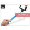 LED SOUND Selfie Holder bluetoothos szelfi bot exponáló gombbal - kék