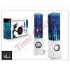 LED SOUND Univerzális hangszóró 3,5 mm jack csatlakozóval és vezetékkel - LED Sound Dancing Water - fehér