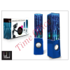 LED SOUND Univerzális hangszóró 3,5 mm jack csatlakozóval és vezetékkel - LED Sound Dancing Water - kék