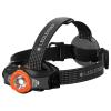 Ledlenser MH11 tölthető fejlámpa Bluetooth 1000 lm 18650 (fekete/narancs)