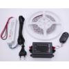 LEDMASTER 3528UCW-180-12VWF / 3 méter vízálló LED szalag tápegységgel és fényerõszabályzóval