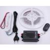LEDMASTER 3528UWW-180-12VWF / 3 méter vízálló LED szalag tápegységgel és fényerõszabályzóval