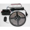 LEDMASTER 3528UWW-300-12VWF / 5 méter vízálló LED szalag tápegységgel és fényerõszabályzóval