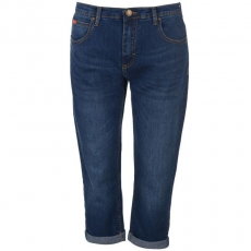 Lee Cooper női farmer - Lee Cooper Cropped Jeans Mid Wash