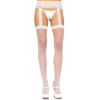 Leg Avenue Sheer Thigh Highs - WHITE - O/S - HOSIERY