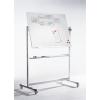 LEGAMASTER Professional forgatható mágneses fehértábla (whiteboard), 100x150 cm