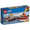 LEGO City - Tűz a dokknál (60213)