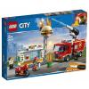 LEGO City Tűzoltás a hamburgeresnél (60214)