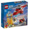 LEGO City Tűzoltó mentőhelikopter (60281)