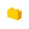 LEGO LEGO 1x2 tárolódoboz - sárga (40021732)