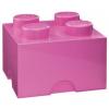 LEGO LEGO 2x2 tárolódoboz - pink (40031739)