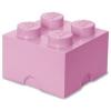 LEGO LEGO 2x2 tárolódoboz - rózsaszín (40031738)