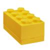 LEGO LEGO 2x4 mini tárolódoboz - sárga (40121732)