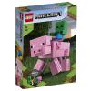 LEGO Minecraft BigFig malac Zombibabával (21157)