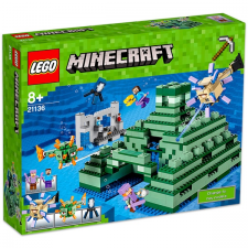 LEGO Minecraft: Emlékmű az óceán partján 21136 lego
