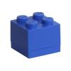 LEGO ® Seasonal Tároló mini doboz 2x2 kék - 46x46x43mm