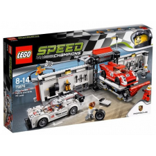 LEGO Speed Champion Porsche 919 Hybrid and 917K Pit Lane (75876) lego