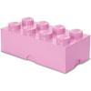 Lego Storage tároló doboz 8250 x 500 x 180 mm - világos rózsaszín