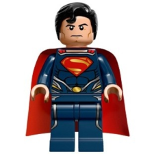 LEGO Superman sötétkék ruhában lego