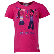 LEGO THEODORA303-460-110 - LEGO Wear Friends Theodora 303 lány pink t-shirt 110-es méretben